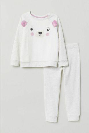 Piżama, piżamka H&M 98, 104