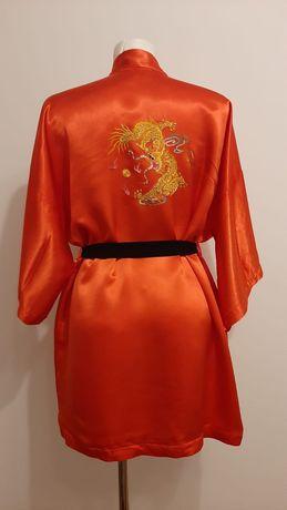 Szlafrok kimono ze smokiem