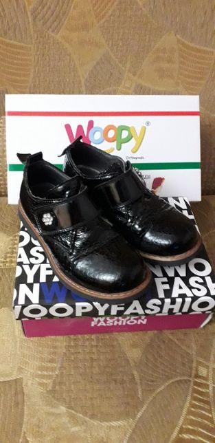 Туфли кожаные лаковые ортопедические Woopy orthopedic вупи, 31 разм