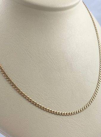 Złoty łańcuszek splot PANCERKA PR. 585 (14K), dł.48,5 cm