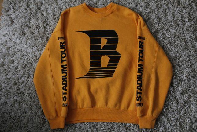 żółta bluza Bieber