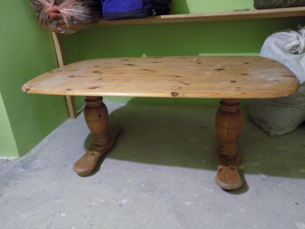 Ława lite drewno