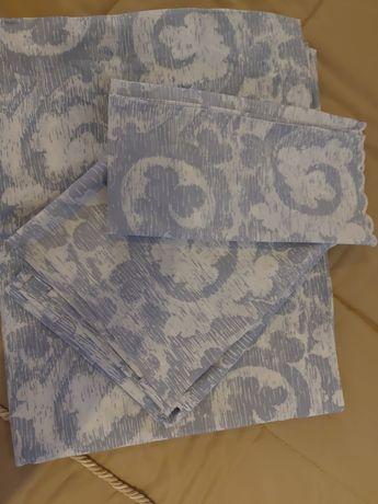 Conjunto de lencol e capa de edredão