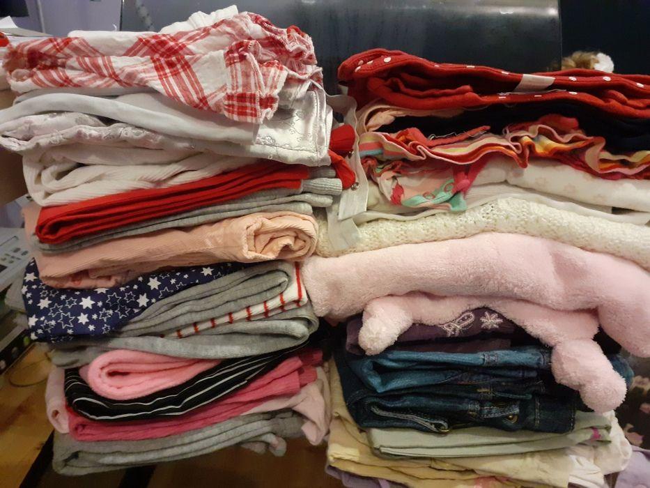 Zestaw paka ubrań dla dziewczynki r. 74-80 Żyrardów - image 1