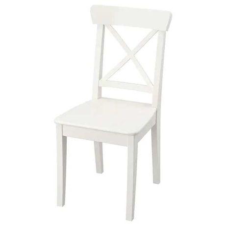 Nowe krzesła INGOLF ikea + taborety