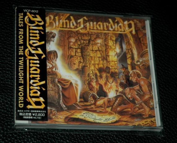 BLIND GUARDIAN - Tales From The Twilight World.1990 No Remorse Japan.O