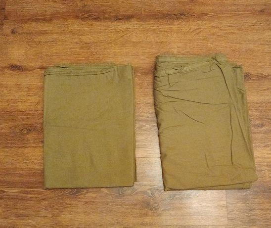 Prześcieradło wojskowe khaki 100% bawełna