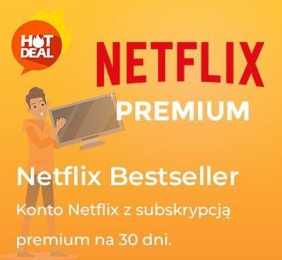 NETFLIX 30 dni Premium - TV/PC/PS/XBOX / PRYWATNE w 20 sekund!