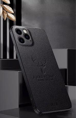 Кожаный чехол на iPhone 12 Pro