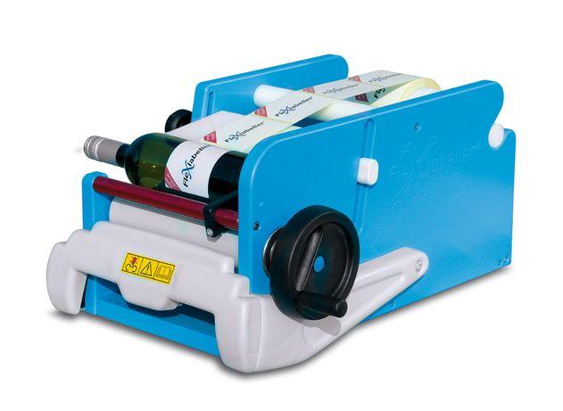 Rotuladora para garrafas de Vinho, Azeite e Cerveja