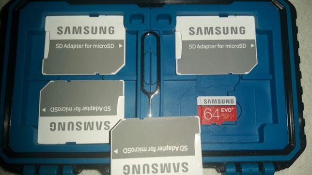 Samsung Evo+ 64GB, wersja 80/20, Korea, nowe, CID