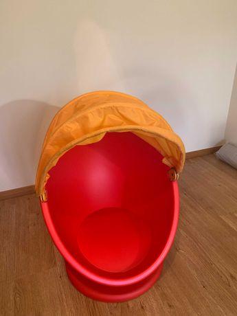 IKEA PS LÖMSK - Poltrona giratória para criança