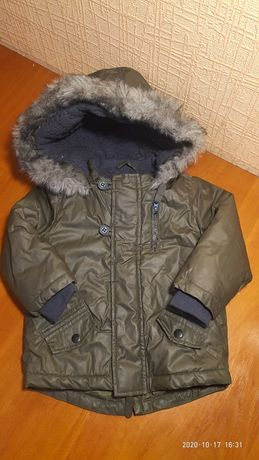 Куртка на холодну осінь на 1 рік
