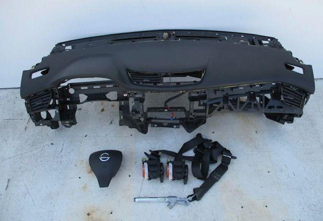 Tablier airbags cintos Nissan Qashqai 3