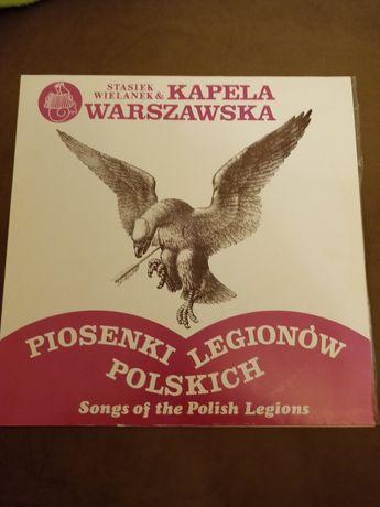 Płyta winylowa piosenki Legionów Polskich