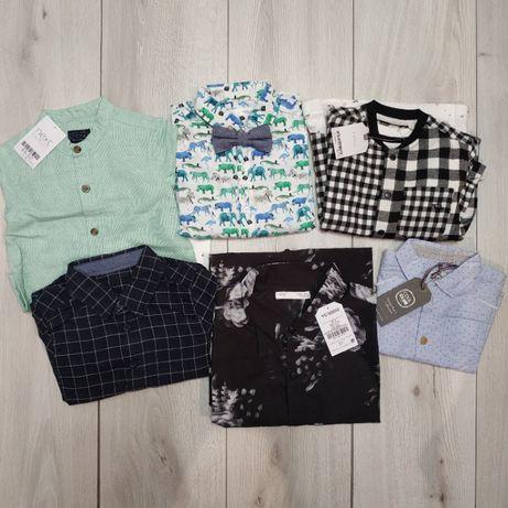 Рубашка, набор рубашка и футболка. Рост 68, 86, 90, 104, 164 см