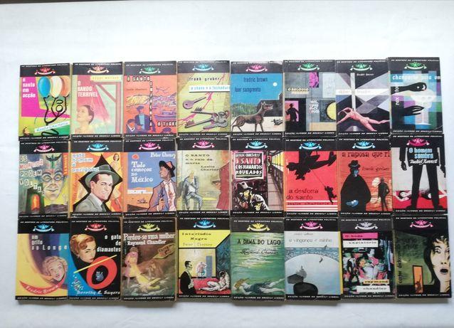 Coleção: Os mestres da literatura policial (65 livros)