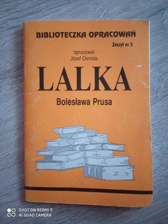 Lalka. Biblioteczka opracowań. Bolesław Prus