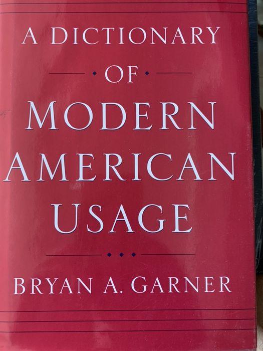 A Dictionary of Modern American Usage - Bryan A. Garner São Domingos de Benfica - imagem 1