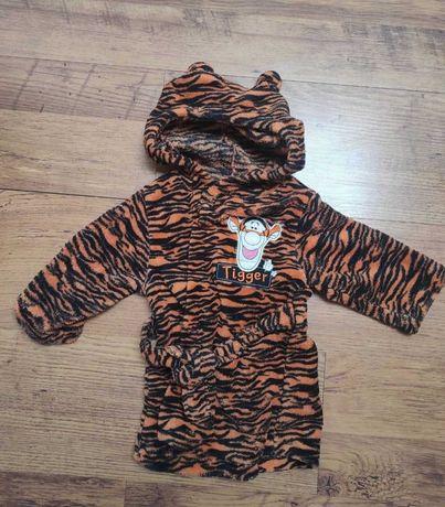 Szlafrok dziecięcy Disney Tygrys rozmiar 74-80