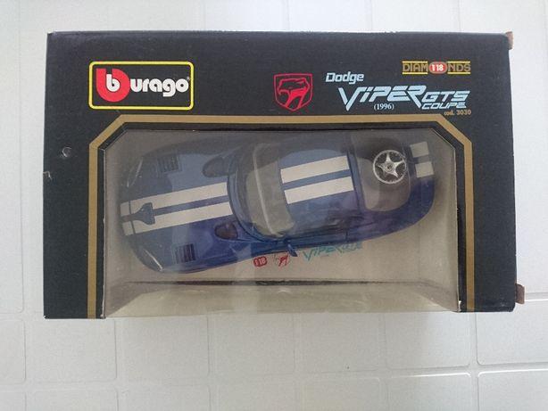 Dodge Viper GTS Coupe (1996) - Burago - com caixa original
