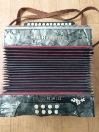 Akordeon Hohner club 3