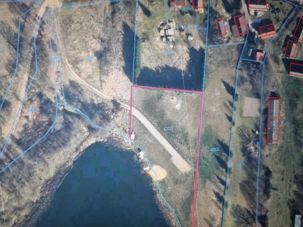 Działka nad jeziorem Rydzewo  4200m2 sprzedam lub zamienię.