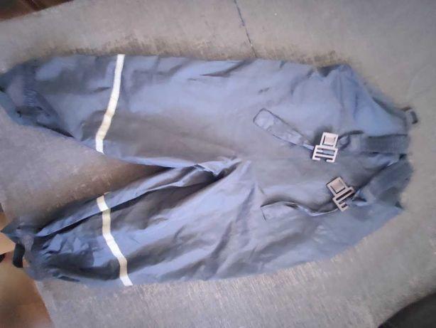 spodnie na deszcz przeciwdeszczowe inovvative 86 92 granatowe
