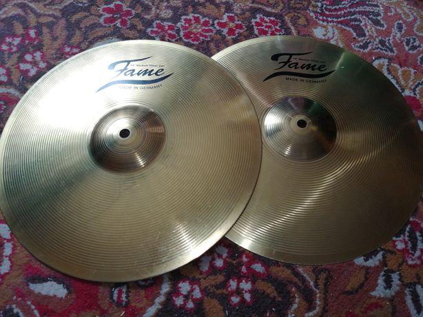 Talerze perkusyjne Hi-hat firmy FAME