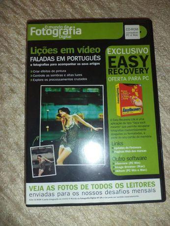 DVDs lições de fotorafia (são 3)