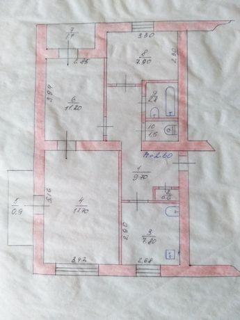 Продам 3 - комнатную квартиру