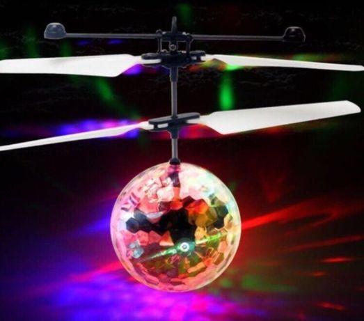 Светящийся летающий сенсорный шар LED Flying ball. ОЧЕНЬ ДЁШЕВО!!!