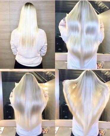 Наращивание волос Микро