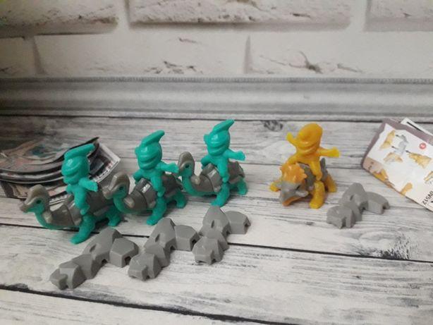 Серия Дино наездники Киндер игрушки