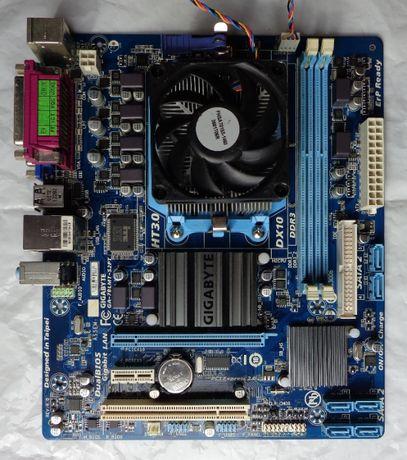 Комлект 2-а ядра AMD Athlon II X2 250/GIGABYTE GA-78LMT-S2PT(Am3+)