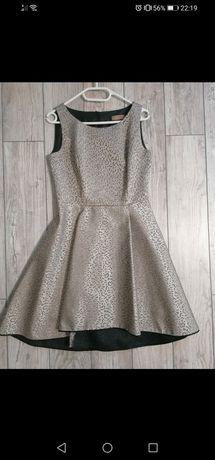 Sukienka złota L wesele, sylwestra