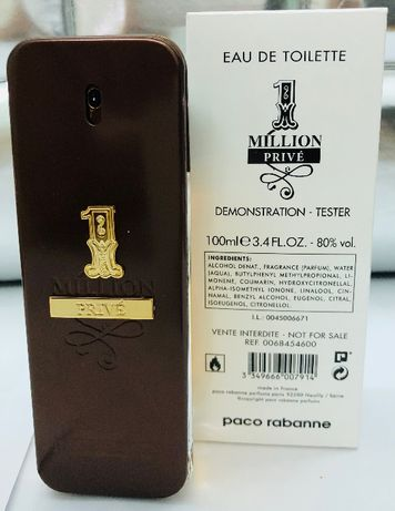Tester 100 ml / Perfumy 100ml / 33ml - Paco Rabanne One Milion Prive