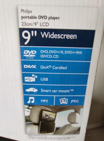"""2x przenośne DVD Philips 9"""" oraz Panasonic 8,5"""""""