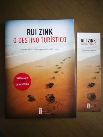 """Livro """"O destino turístico"""" de Rui Zink"""