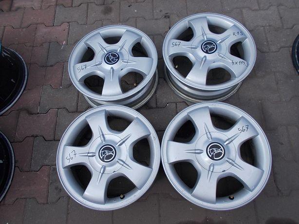 Felgi aluminiowe Hyundai 4x114,3 5,5Jx15 ET46 Nr.567