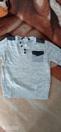 Sweterek cienki dla chłopca