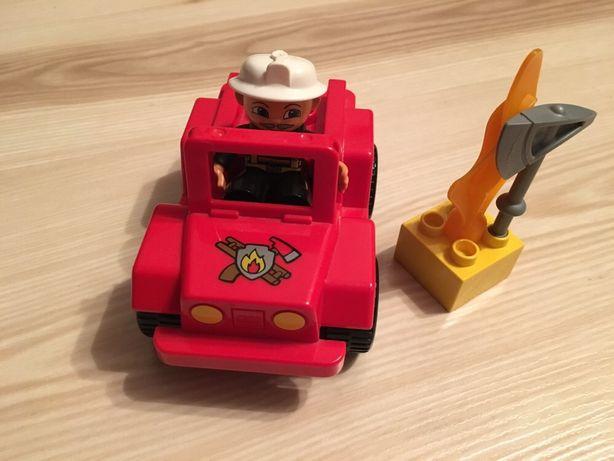 Лего дупло начальник пожарной станции