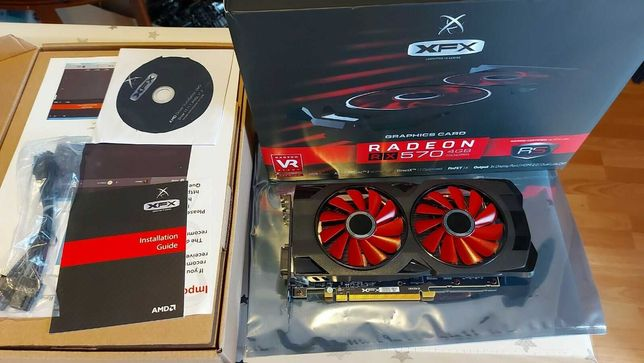 Видеокарта XFX AMD Radeon RX 570 4гб