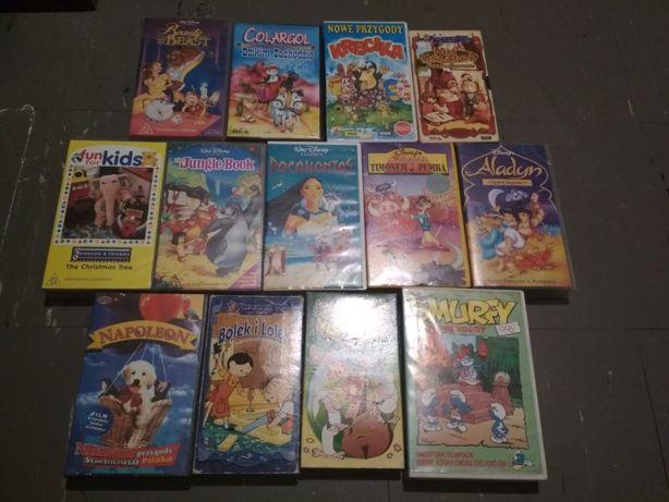 Bajki Kasety VHS