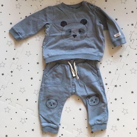 Dres, komplet, spodnie, bluza newbie 74