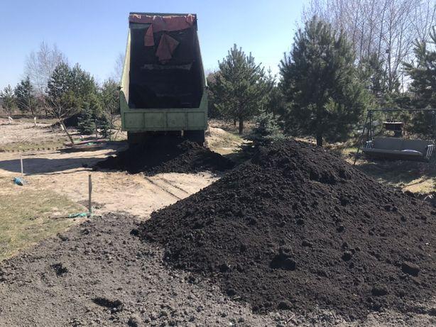 Чернозём грунт чорнозем подсыпка песок земля навалом песок овражный