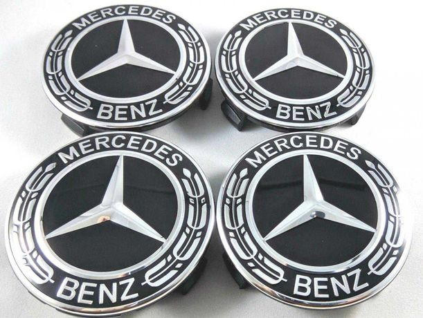 Centros/tampas de jante completos Mercedes-Benz