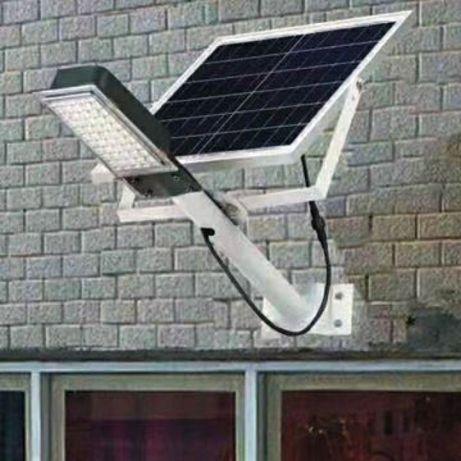 Уличный Светодиодный LED Фонарь 120 Ватт с солнечной панелью