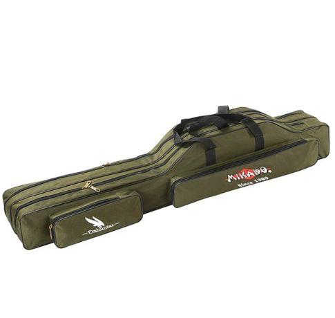 Чехол для удочек Mikado UWD-12003G-W для 3 удилищ с катушками 150см