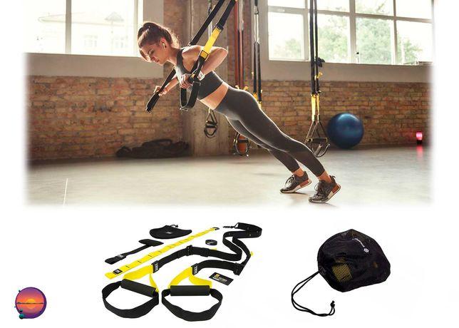 Петли TRX Pro тренировочные для спорта и фитнеса, тренажер для тела